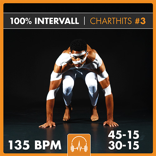 100% INTERVALL - Charthits #3 (45-15 + 30-15)  135 BPM
