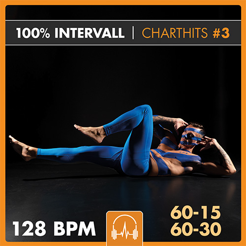 100% INTERVALL - Charthits #3 (60-15 + 60-30)  128 BPM