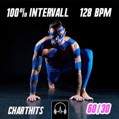 100% Intervall - Charthits #1 (60|30) - 128 BPM