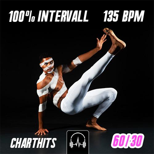100% Intervall - Charthits #1 (60|30) - 135 BPM